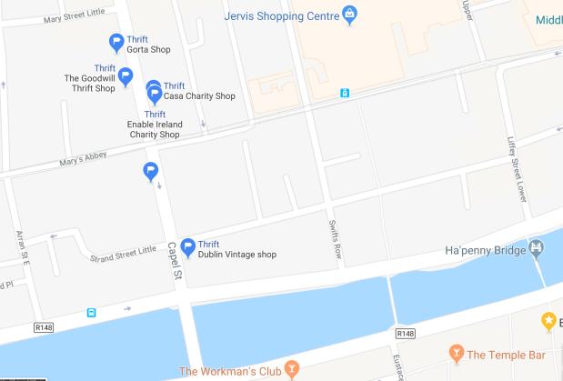 Capel Street Thrift in Dublin